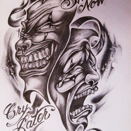Smile Now Cry Later Tattoos Design Golfclub